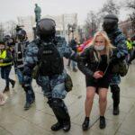 EEUU repudió la brutal represión de Rusia contra los seguidores de Navalny