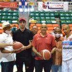 Chris Duarte saque de honor en cierre ronda regular basket Santiago